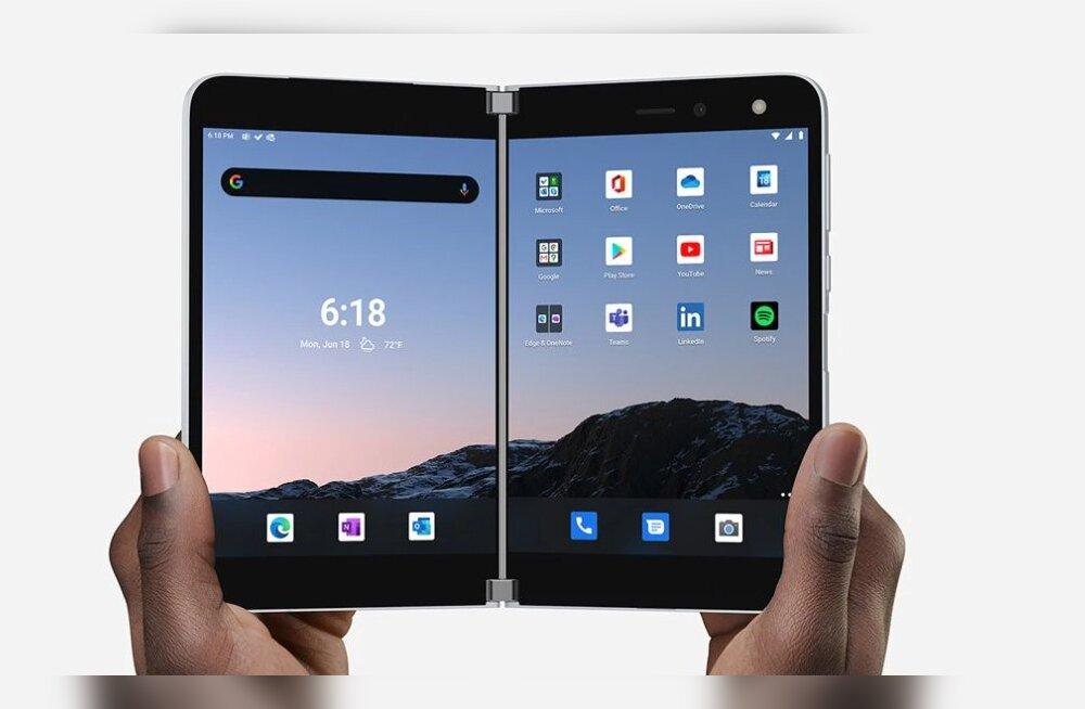 Surface Duo annab lootust, et kahe ekraaniga Androidi telefonidel on tulevikku