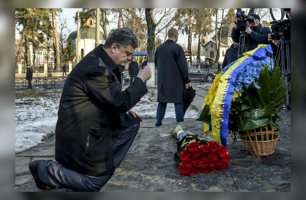Porošenko omistas Slovjanski all langenud SBU polkovnikule Ukraina kangelase aunimetuse