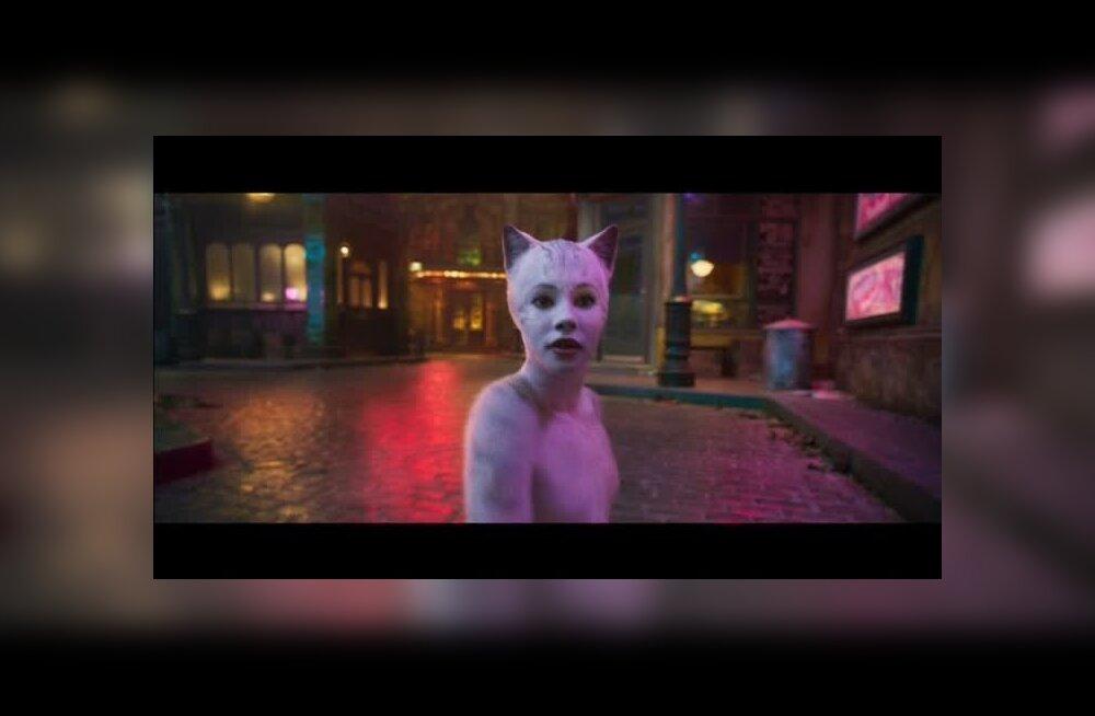 """Võigas! Filmiversioon muusikalist """"Cats"""" ajab vaatajatel ihukarvad püsti"""