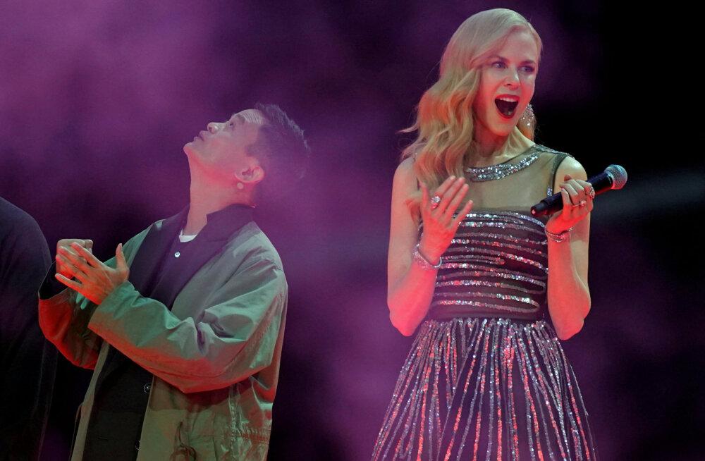 Alibaba omanik Jack Ma ja Nicole Kidman