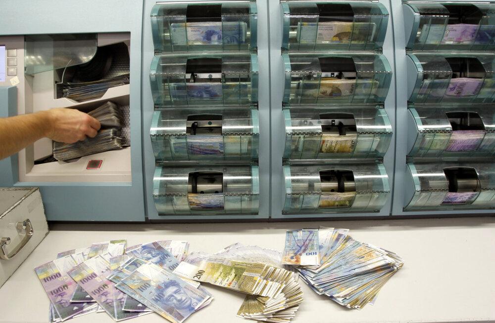 Šveitsis tulevad kolmapäeval käibele uued rahatähed
