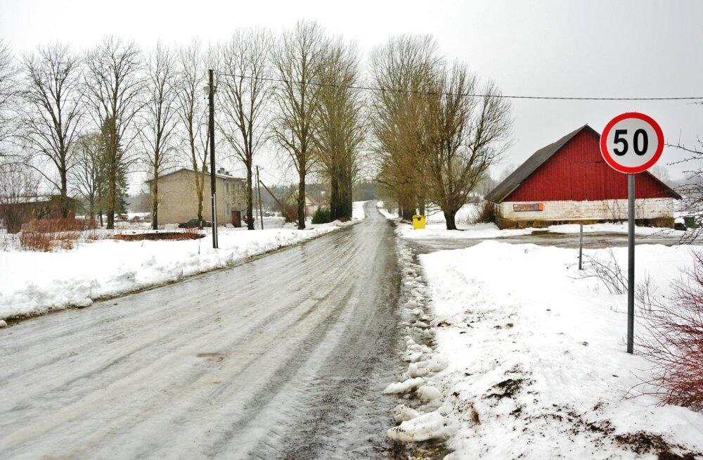 Jäised teed Põhja-Viljandimaal