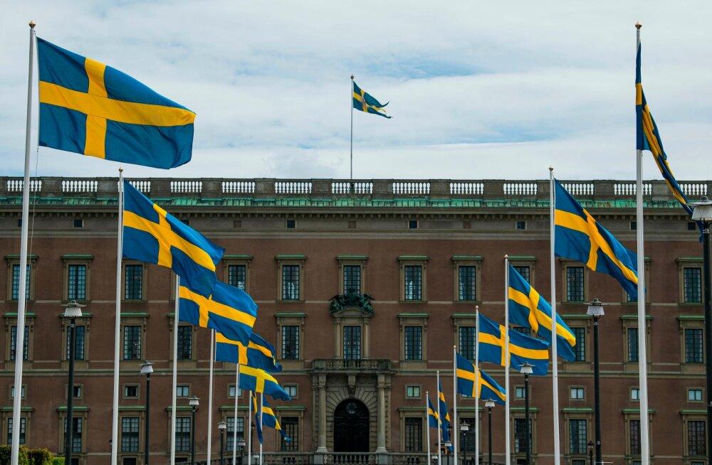 Rootsi kuningaloss Stockholmis 29. mail