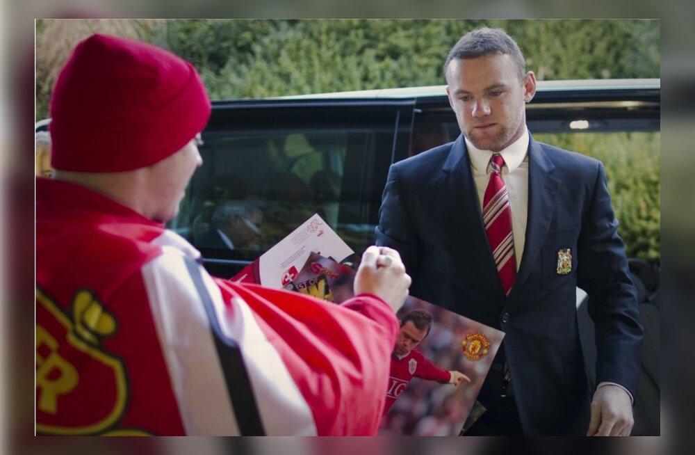 Wayne Rooney 8. detsembril saabumas UEFA peakorterisse Nyoni