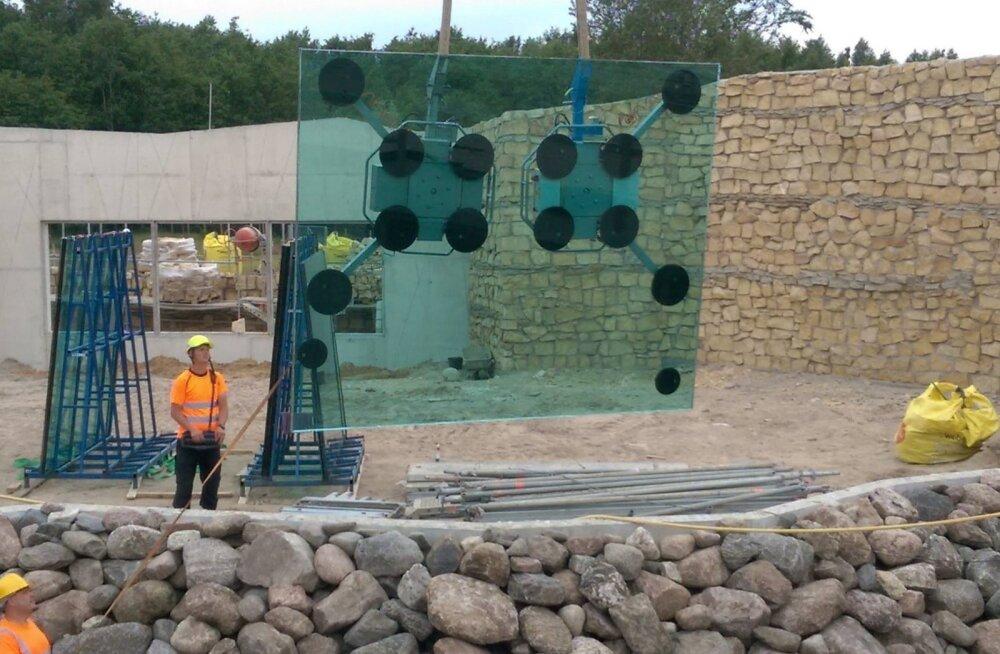 FOTOD | Tasapisi valmib! Vaata, milline hakkab välja nägema Tallinna loomaaia jääkarude uus kodu