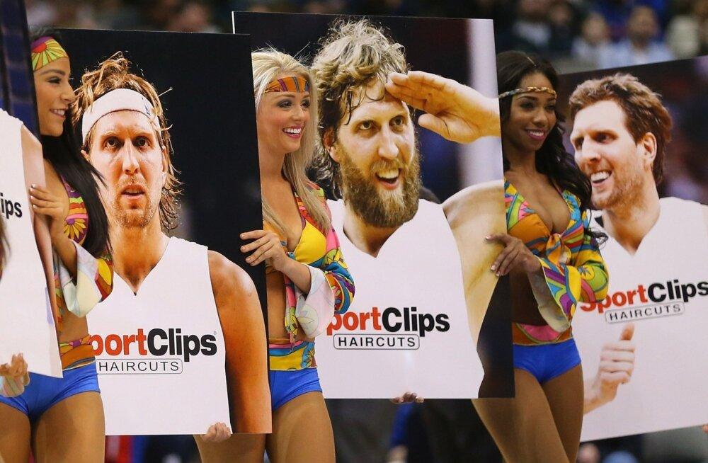 Dirk Nowitzki soengud NBA päevil