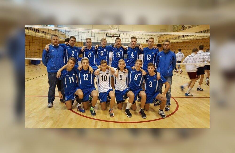 Eesti noormehed EEVZA turniiril