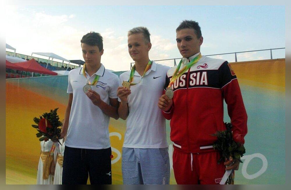 Kregor Zirk võitis suveolümpiafestivalil uue rekordiga kuldmedali!