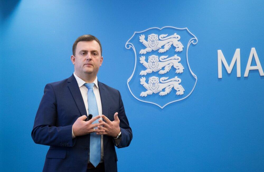 Maksu- ja tolliametipeadirektori asetäitja Rivo Reitmann.