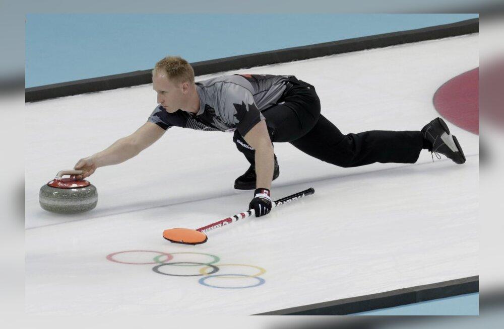 Brittide uurimus: curling on sama ohtlik ala kui suusahüpped