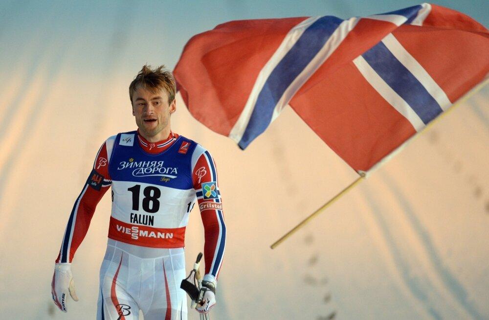 Petter Northug tõi Norrale au ja kuulsust.