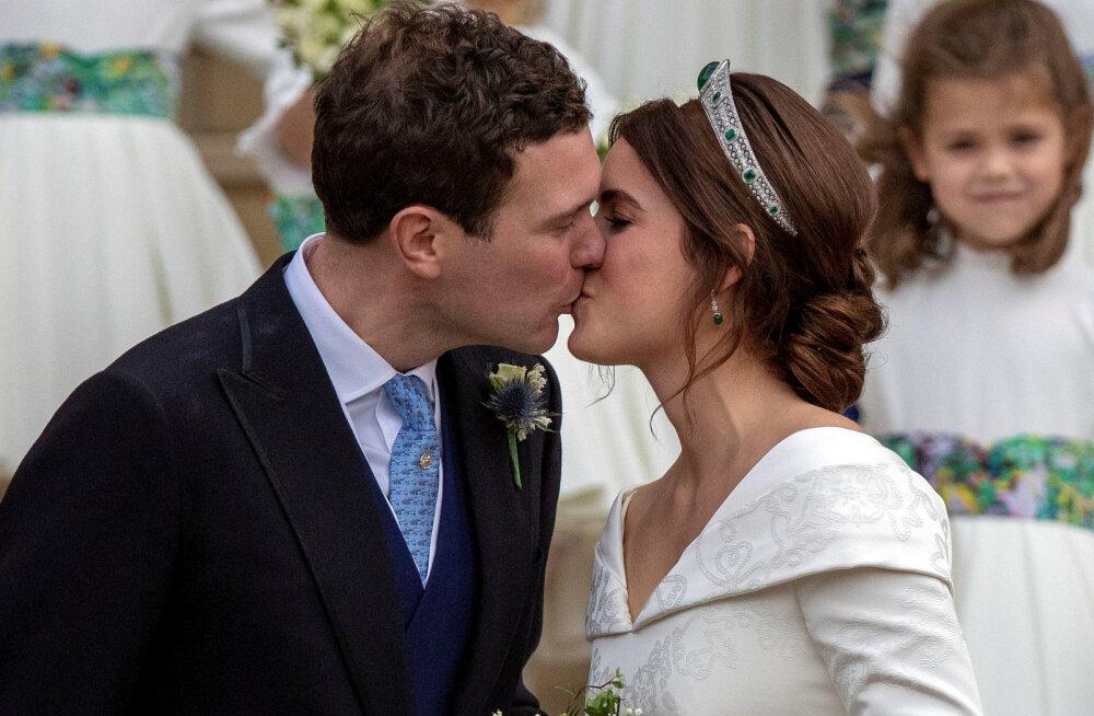 Printsess Eugenie võttis abikaasa perekonnanime, kuid kasutab seda väga ebatavalisel moel
