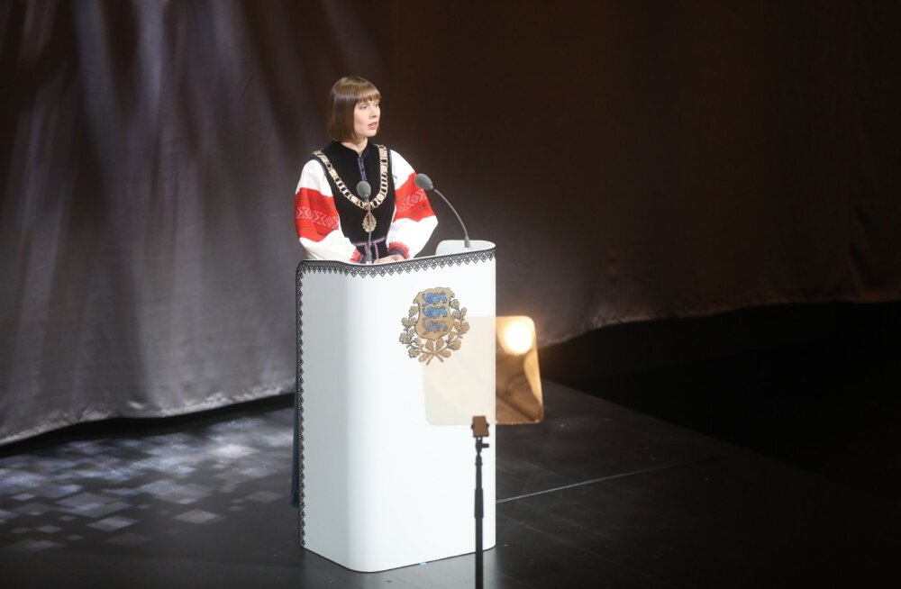 Kersti Kaljulaid aastapäevakõnes: ärge valige inimesi, kes koduvägivalla teemal suudavad genereerida vaid mõne labase nalja. Ärge naerge ja ärge valige