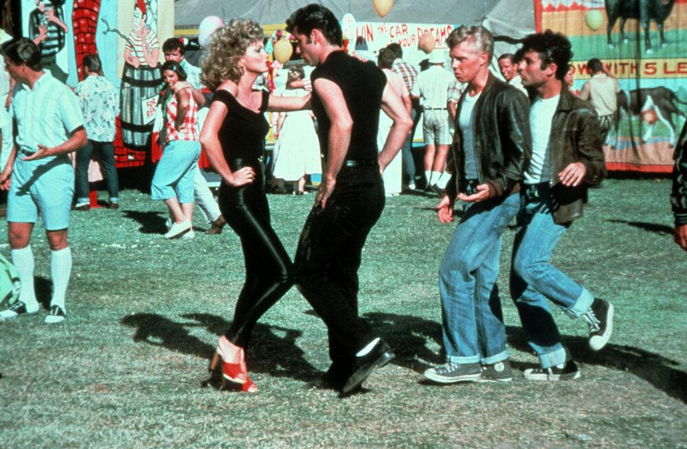 """Tõesti seda väärt? Filmi """"The Grease"""" legendaarsed nahkpüksid said oksjonil hämmastava hinna"""