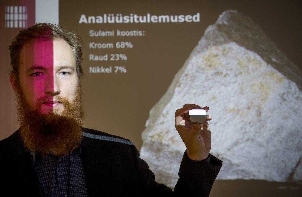Meriväljalt leitud sulami analüüsitulemuste tutvustus