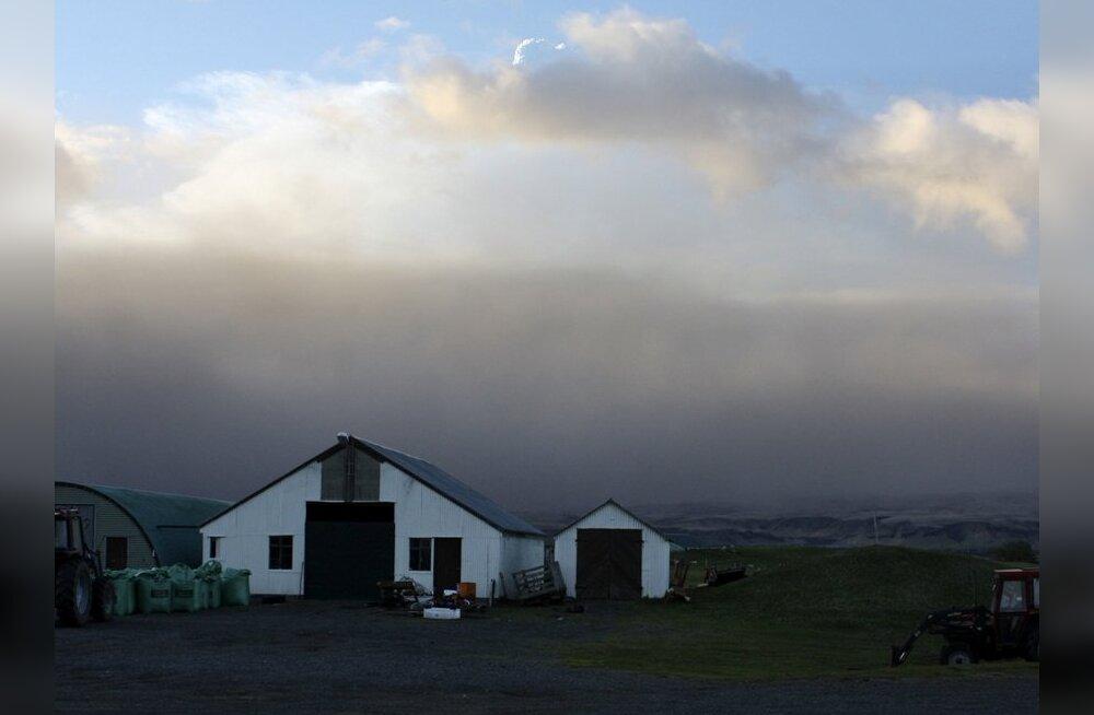 Islandi vulkaanipurse on lõppenud, kuid tuhapilv Euroopas on alles
