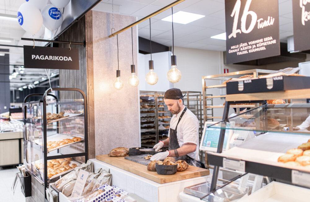 Fazeri pagarikojad laienesid: käsitsi tehtud värskeid pätse saab nüüd kolmest Tallinna hüpermarketist