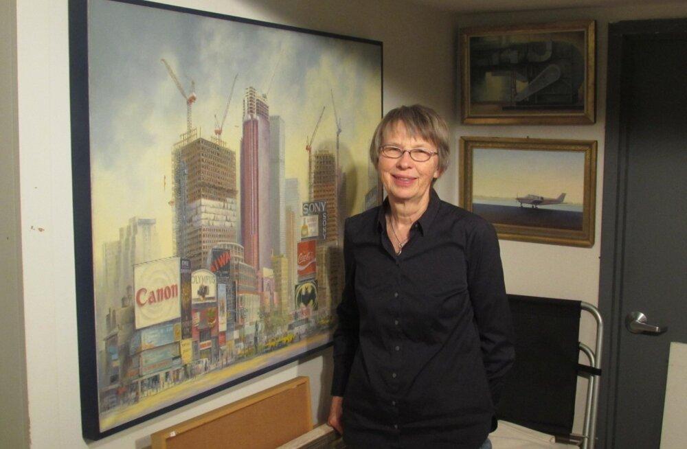 """Seda Naima Rauami tööd sai 2010. aastal näha Kumus näitusel """"Eesti kunst paguluses""""."""