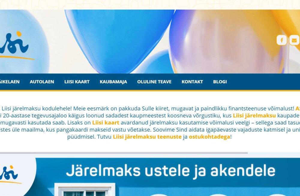 c2c1c01b0b8 Eesti võib saada uue panga. Järelmaksufirma Liisi ihkab pangaks ...