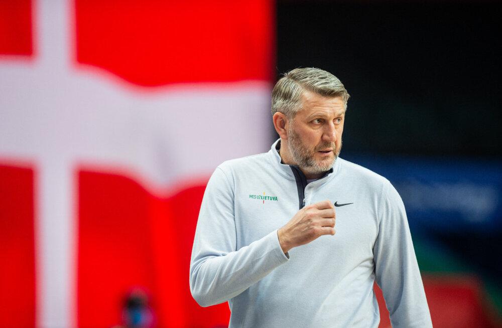 Krahhi vältida suutnud Leedu koondise peatreener saatis ajakirjanikele terava sõnumi