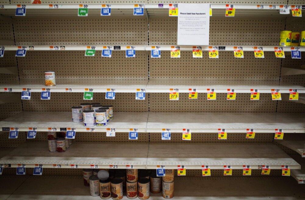 Paanikaostud ja piiride sulgemised võivad tuua toidu hinnatõusu