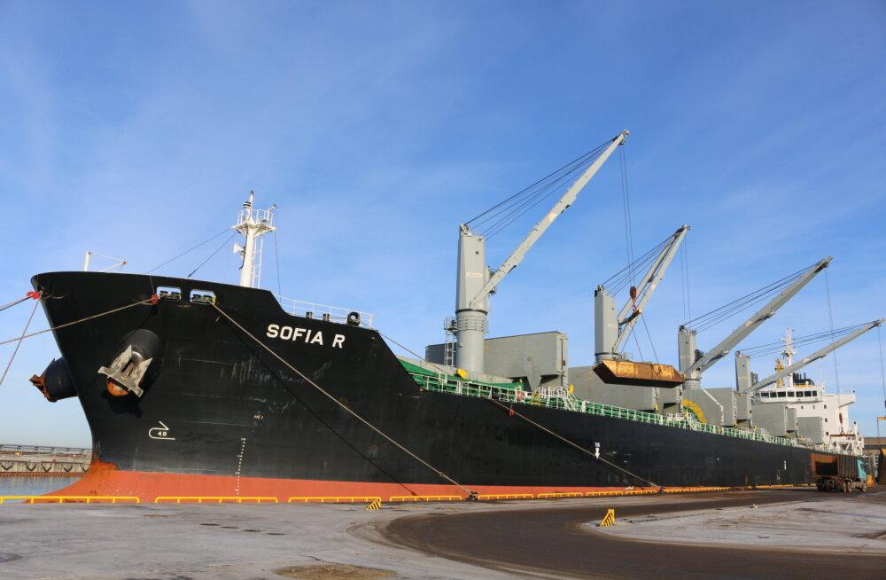 BLRT Grupp lastis esmakordselt laeva, mis suudab kanda 36 tuhat tonni