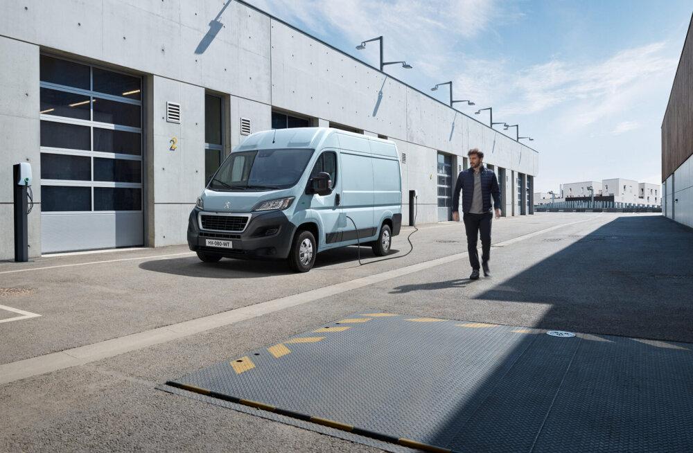 Peugeot e-Boxer: esimene 300+ km sõiduulatusega elektrikaubik