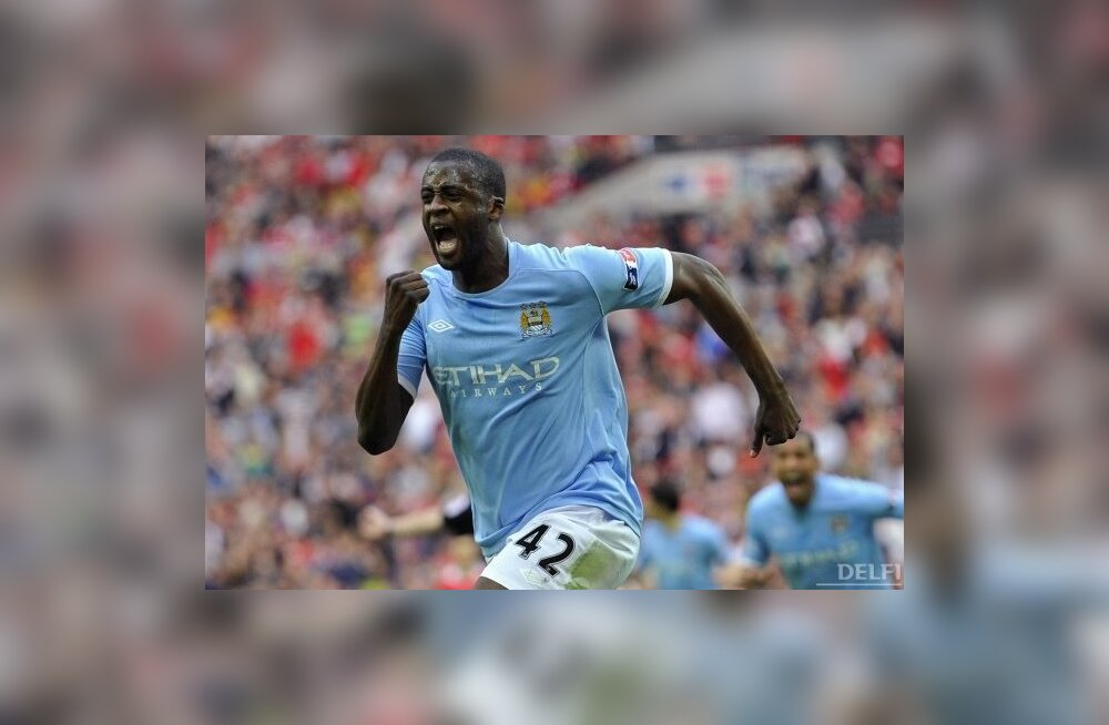 Aafrika aasta jalgpallur mängib Manchester City's