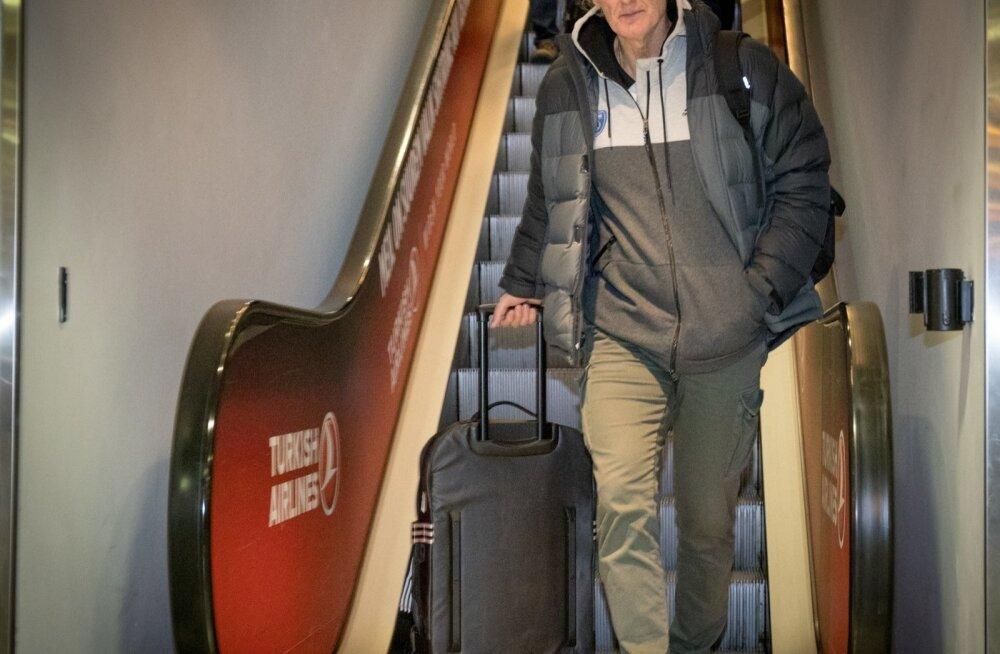 Himki peatreener Duško Ivanović saabus Tallinnasse