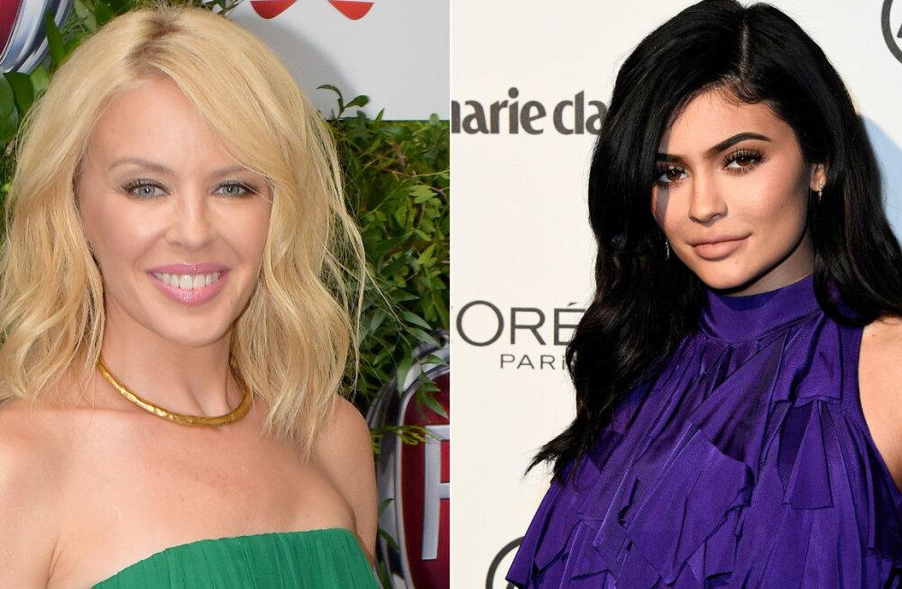 Aastaid kestud nimelahing sai õiglase lõpu: Kes jäi peale - Kylie Minogue või Kylie Jenner?