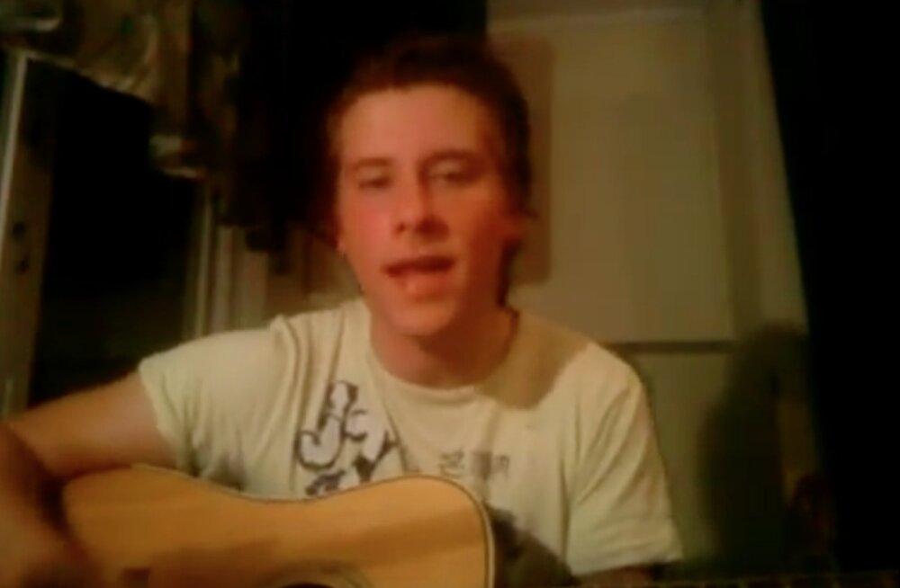 VIDEO | Noor ja toores! Vaata haruldasi kaadreid sellest, kuidas vaid 17-aastane Victor Crone staarisaatesse pürgib