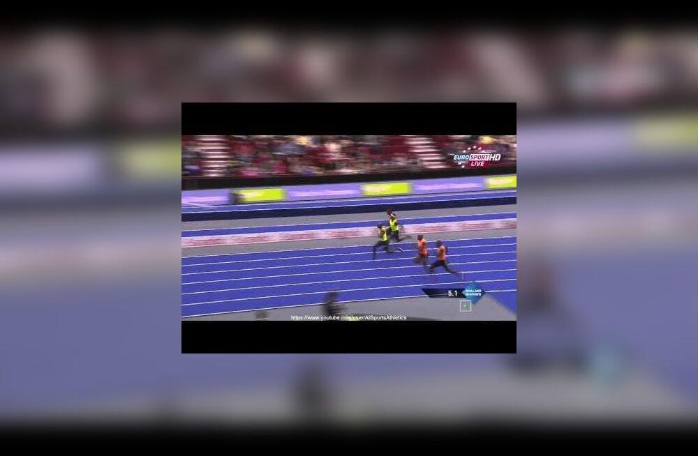 FOTOD JA VIDEOD: 38-aastane Collins vigastas Malmös finaali ajal jalga, kuid võitis ikkagi