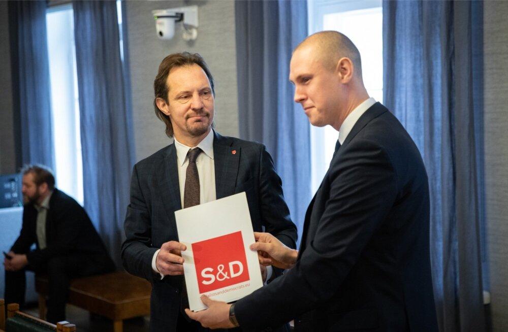 Raimond Kaljulaidi pressikonverents