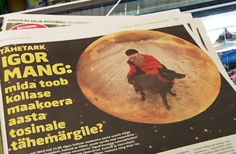 VIDEO | Kuidas sünnib ülipopulaarne horoskoop? Igor Mang: mulle annavad inspiratsiooni ka naised