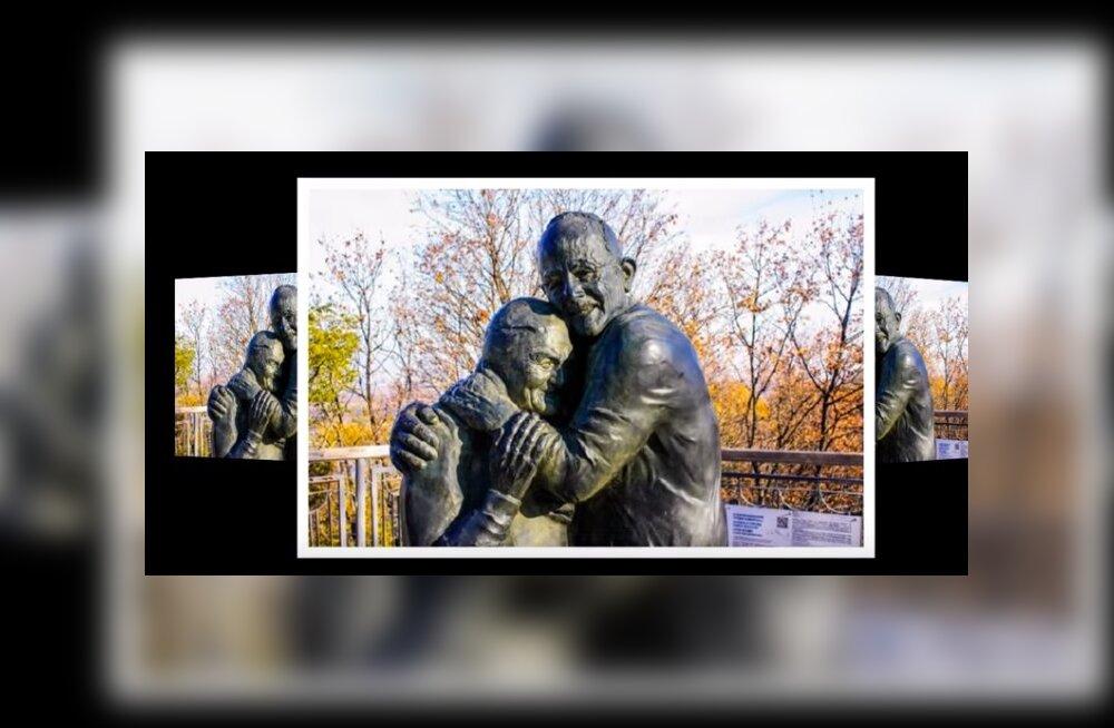 Невероятная история любви: трогательный памятник итальянцу и украинке