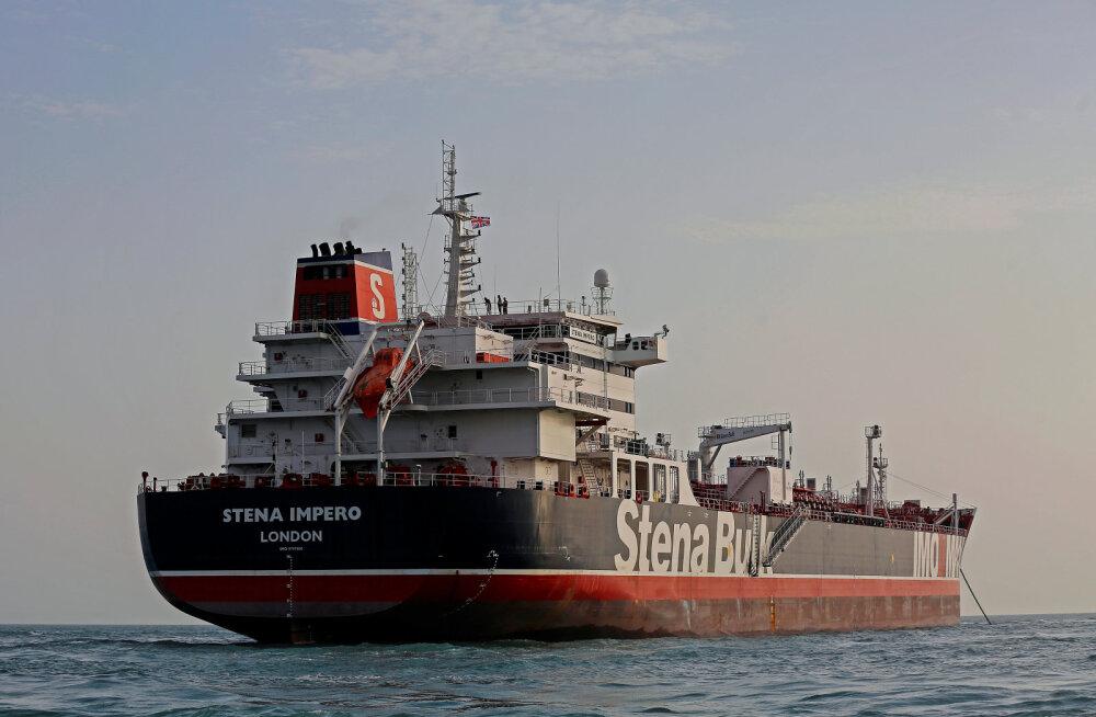 Briti peaminister May juhatab eriolukorra komitee Cobra istungit seoses tankeri hõivamisega