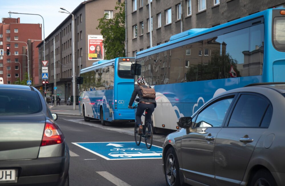 Jalgratturid bussiradadel 1.06.2020