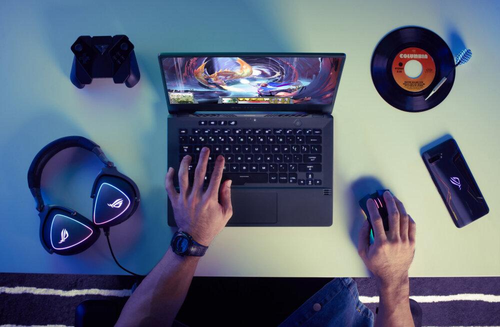 Asuse uus superõhuke sülearvuti mänguritele on kompromissitu valik. Nüüd saadaval ka Eestis