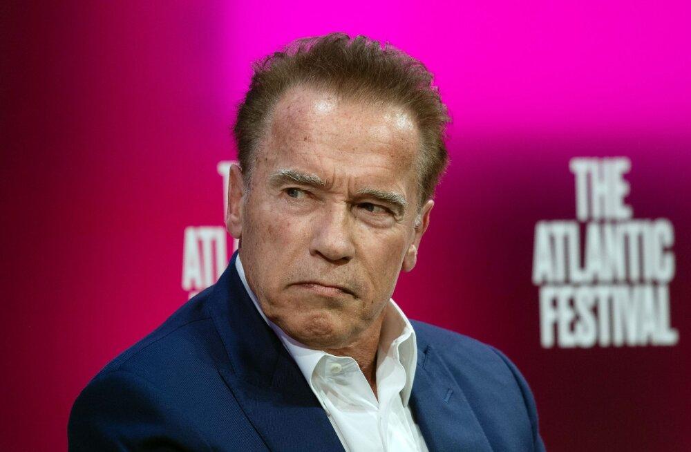 Tõelised mehed söövad salatit! Arnold Schwarzenegger propageerib veganlust