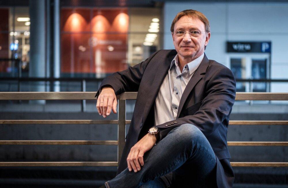 Tallinna Kaubamaja Grupi juhatuse esimees Raul Puusepp
