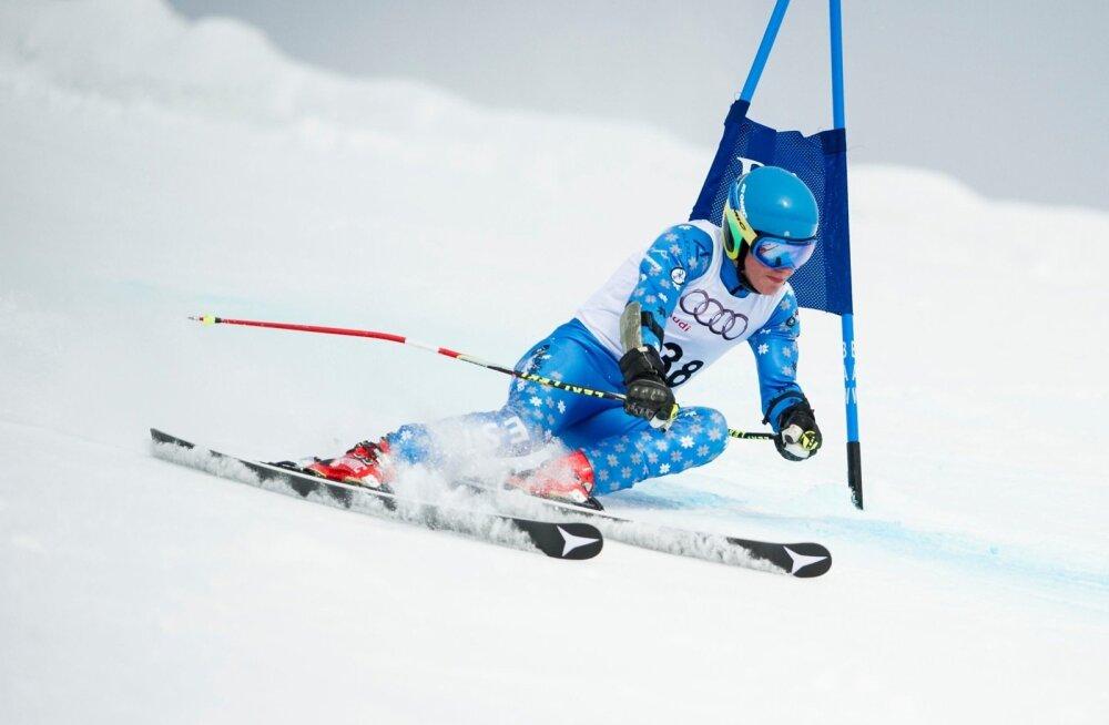 Juhan Luik on ainus Eesti mäesuusataja, kes võistleb ka kiirusaladel.