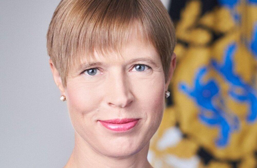 Kersti Kaljulaidi uus ametlik foto