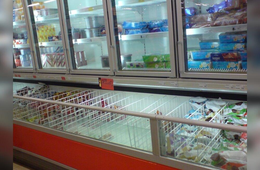 Tühi jäätiselett