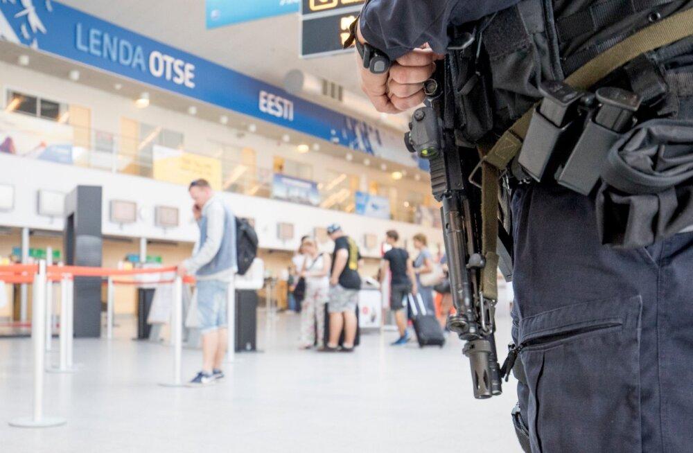 Eriolukord Tallinna lennujaamas