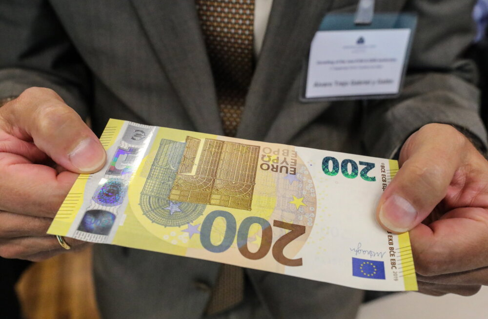 Мистерия заказанных Банком Эстонии купюр в 200 евро: в банкоматах их не будет