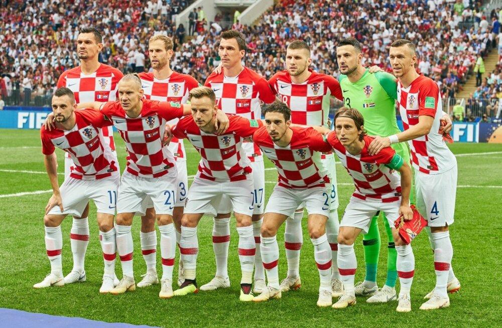 Prantslased ei saanud aru, miks olid Horvaatia koondises ainult valgenahalised mängijad.