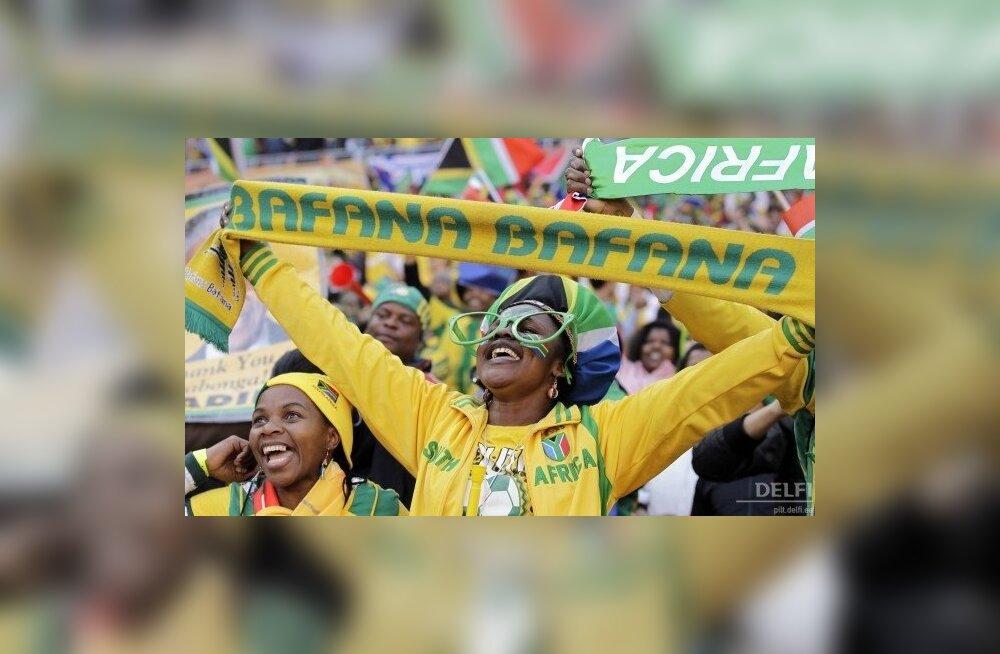 Jalgpalli MM, Lõuna-Aafrika Vabariigi poolehoidjad