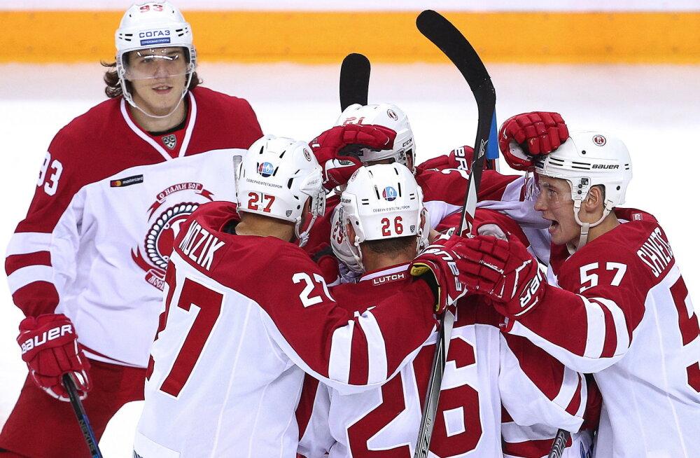 VIDEO | KHL-is negatiivse rekordi püstitanud Novosibirski Sibir sai hooaja esimese võidu
