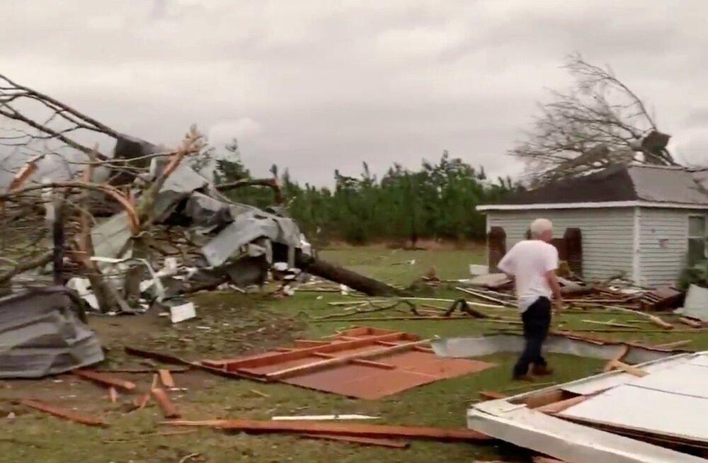USA Alabama osariigis tapsid tornaadod vähemalt 23 inimest