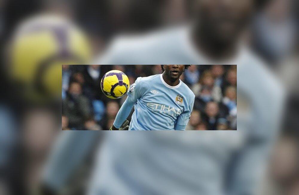 Manchester City Emmanuel Adebayor